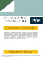 VERIFICADOR RESPONSABLE
