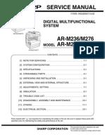 Service-Manual-Sharp-AR-M237