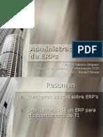 Administración de ERP