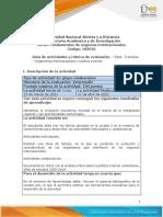 Guía de Actividades y Rúbrica de Evaluación - Unidad 2 - Paso 3 - Análisis - Organismos Internacionales y Política Exterior