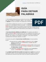 definirPalabras
