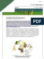 """Vista previa de """"La santé en mal de statistiques - Les blogs du Diplo"""""""