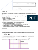 S12 (pH des solutions aqueuses