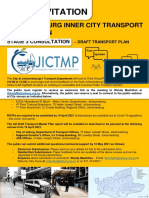 Inner City Transport Masterplan - Draft Transport Plan