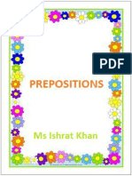 Preposition With Types