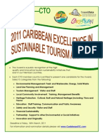 TravelMole-CTO Caribbean Excellence in Sustainable Tourism Awards