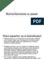 C12 DF Biomonitorizarea pasarilor