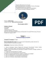 Teorías Del Conocimiento Plan Academico 2021-I