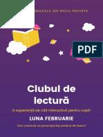 Mov Ziua Internațională a Cărții pentru Copii Școală Poster