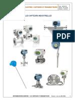 INSTRUMENTATION  Capteurs Transmetteurs