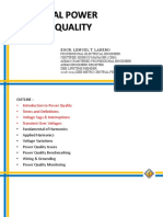 Electrical Power Systems Quality Lecture 2