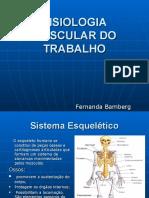 Fisiologia Osteomuscular do Trabalho