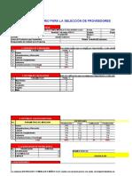 2. MODELO DE SELECCION Y CERTIFICACION DE PROVEEDORES (1) (1)