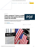 _Caiu, comprou._ Como o analista Fernando Góes ganha dinheiro com ruídos do mercado