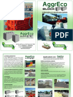 AggrEco Block Depliant Fontana Larga
