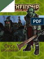 Paper Minis - Orcs of Golarion
