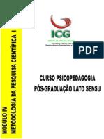 APOSTILA METODOLOGIA DE PESQUISA I