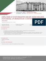 Dipl_me d'Universit_ Droit Immobilier Notarial (formation continue) (1)