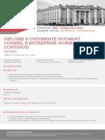 Dipl_me d'Universit_ Notariat Conseil d'Entreprise (formation continue)