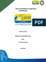 Unidad 2. Desarrollo de La Teoria General de La Administración