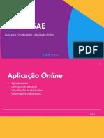 Guia Desafio SAE - Coordenador - Aplicação online  - 05.04