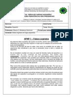 Espanhol - APNPS 1