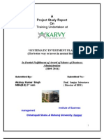 Project-Report-on-Karvy-Mutual-Fund-Services
