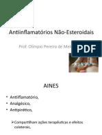 Antiinflamatórios Não-Esteroidais