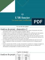 L'IR Foncier (Les Nouveaux Coefficients de Réévaluation Des Biens Hérités)