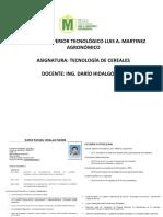 EXPO. TECNOLOGÍA DE CEREALES