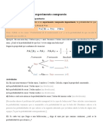 Actividades Probabilidad 6 Probabilidad en un experimento compuesto (continuación)