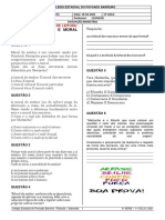3ª SÉRIE - FILOSOFIA - AVALIAÇÃO - 19-03-2021
