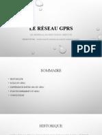 Le Réseau GPRS