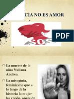 Violencia No Es Amor