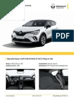 Renault Capture E-tech EZNDHX