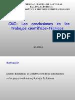 CMI Conclusiones
