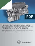 Maintenance OM904-926LA