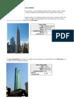 los diez edificios mas altos del mundo y los diez mas altos de mexico