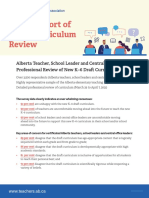 NR 2021-04-8 Curriculum Survey Initial Findings