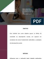 EFEITOS DA ANSIEDADE NO DESEMPENHO ESCOLAR EM ESTUDANTES DO ENSINO FUNDAMENTAL