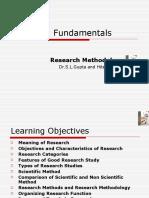 Ch-1 Research Fundamentals