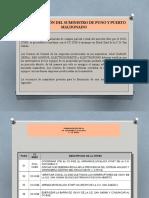 3.-NORMALIZACION DEL SUMINISTRO DE PUNO Y PUERTO MALDONADO-AREA operativa 12