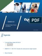 Cenni Normativa EN50131