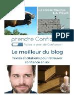 Livret Gratuit Le Meilleur Du Blog Textes Citations