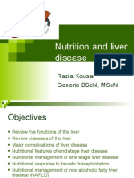 nutrition and liver diseases