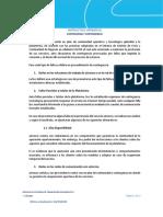 Instructivo Operativo 7. Continuidad y contingencia