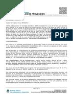 MEDIDAS GENERALES DE PREVENCIÓN Decreto 235/2021