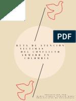 RUTA DE ATENCIÓN VÍCTIMAS DEL CONFLICTO ARMADO EN COLOMBIA