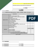 Formato Inspección Vehículo Despacho Productos