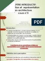 La Représentation. en Architecture